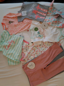 BRAND NEW GIRLS CLOTHING LOT