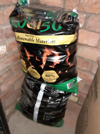 £20 for 2 x 25kg bags of smokeless coal and fire starters