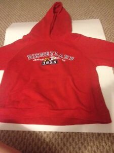 Disneyland Authentic Quality 1955 Red Hoodie.