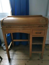 Child's vintage roll-top desk