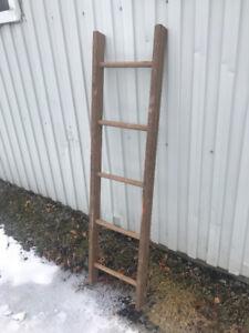 Échelle de bois 5 pieds
