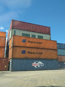 40' Standard High Containers for Storage