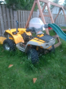 Can am brp quest 650 4x4