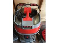 Three Motor Wet And Dry Car Wash And Valeting Industrial Vacuum Cleaner