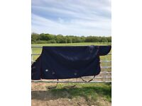 7' Loveson light weight no-fill turnout rug