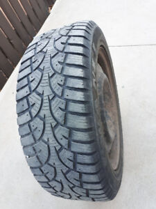 WANLI Winter Tires 205-55/R16 One use only