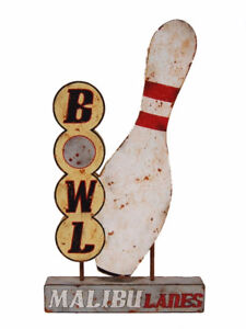 WANTED BOWLING RELATED SIGNAGE