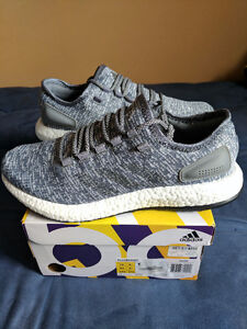 Adidas Pure Boost Grey shoes Size 10