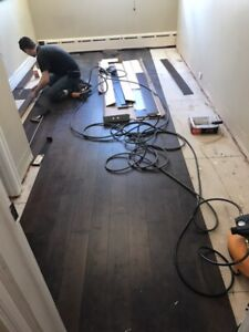 We complete your floor projects! 647-704-2399 WSIB/INSURED