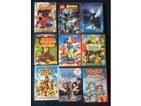Assorted Children's dvds