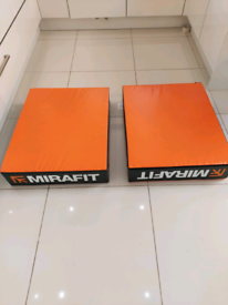 Mirafit weight lifting drop pads *IMMACULATE RRP £130*