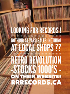 RETRO REVOLUTION REVOLUTION - The MARITIMES VINYL RECORD WEBSITE