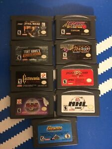 9x Gameboy Advance Games
