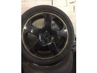 "Vw golf alloy wheel mk4 17"""