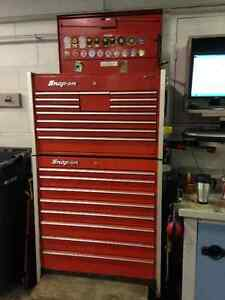 Snap on tool box combo