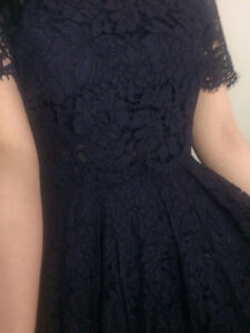 ASOS Navy Blue Lace Dress - Brand new with tag