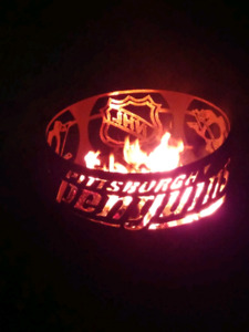 Pittsburgh Penguins fire pit
