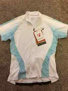 New women's  Bontrager size M bike jersey