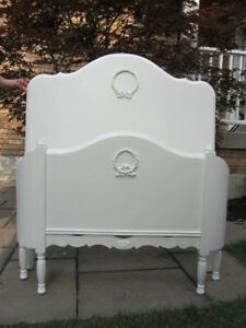 French Provincial Twin Bed