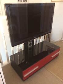 Samsung Full 1080p HD TV le40a686m1fxxu with Solid 2 Drawer Unit