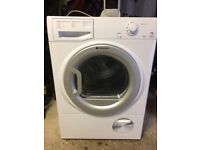 Almost new hotpoint 7.5kg condenser dryer free local delivery