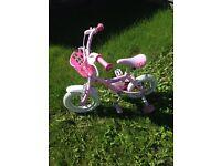 Children's peppa pig bike