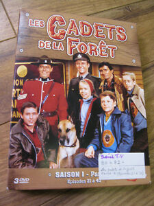coffret DVD serie de collection LES CADETS DE LA FORET 1980-82