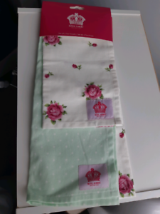BRAND NEW ROYAL ALBERT TEA TOWELS Barrack Heights Shellharbour Area Preview