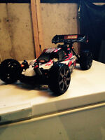 1/8 hpi trophy nitro buggy trades for drift car truck buggy ect