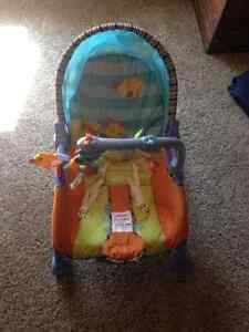 Fisher Price Infant to Toddler Rocker Strathcona County Edmonton Area image 1