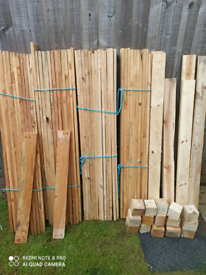20×Reclaimed Pallet Boards 120 cm / Cladding / Timber Wall  / Wood Pla