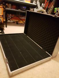 Pedalboard - XL Rockboard by Warwick, Flightcase