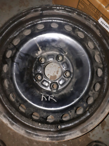 "4 16"" 5x108 Ford steel rims for sale"
