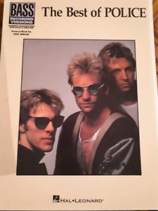 The Police Bass Tab book