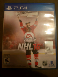Ps4 Nhl 16 game