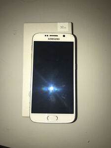 WHITE SAMSUNG GALAXY S6 FOR SALE WITH BOX!!!!