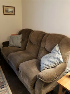 LazyBoy Reclining Couch and Reclining Chair