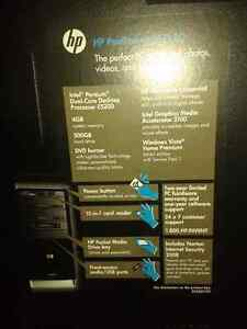 HP VISTA DESK TOP TOWER ONLY its a 64 bits
