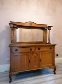 Oak Dresser sideboard antique/vintage