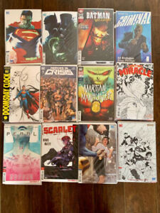 70+ recent comic books and storage bin/bags/boards - sell/trade