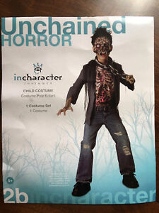 Unchained Horror Zombie Costume - Size 6+