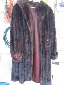Assorted Ladies coats brand new and antique muskrat size 6-8