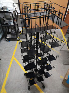 Compartment Wire Rotary Rack