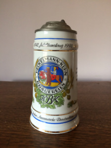 Set of 2 Special Edition German Beer Steins with Certificate