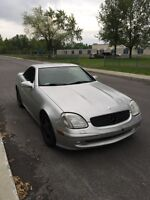 2001 SLK 230 KOMPRESSOR  CONVERTIBLE 78000km only!!!!