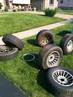 Various Tires and Rims (R15)