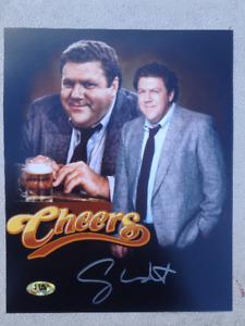 "George Wendt ""Norm"" Signed Cheers 8 x 10 Photo W/COA"