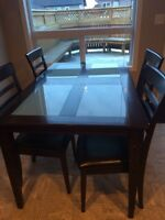 4 piece kitchen table