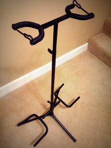 Double Guitar stand - NEW - $35