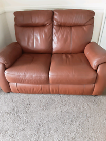 2 seater sofa and 2 x Electric reclining chairs